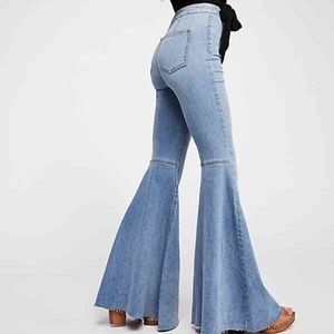 Float on flares jeans
